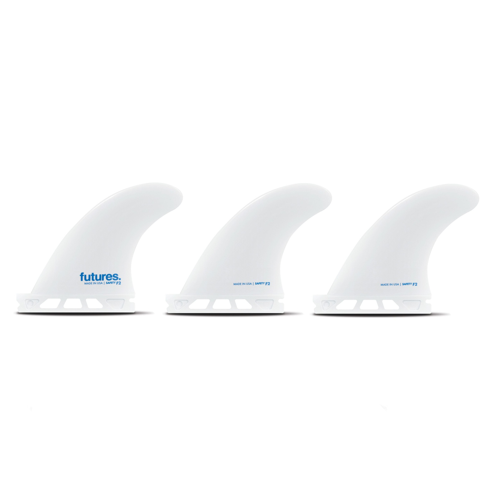 FUTURES Thruster Fin Set F2 SOFT Safety